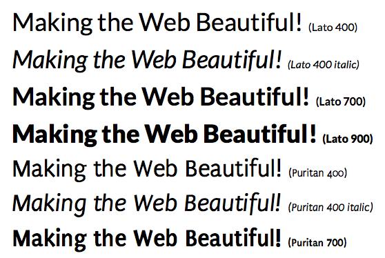 Google Web Fonts i Firefox