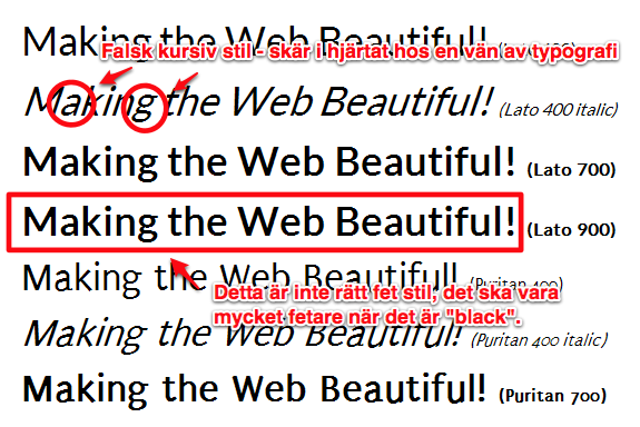 Google Web Fonts IE8 nofix with notes