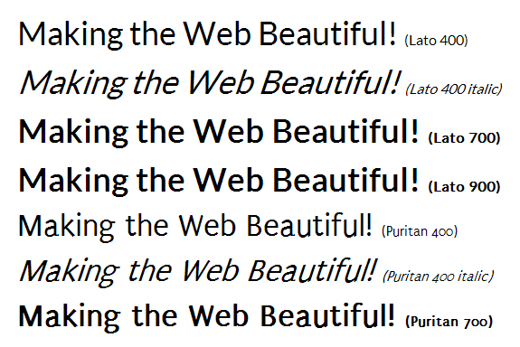 Google Web Fonts IE8 nofix